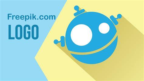 create flat designs  logo freepik wwwfreepikcom youtube