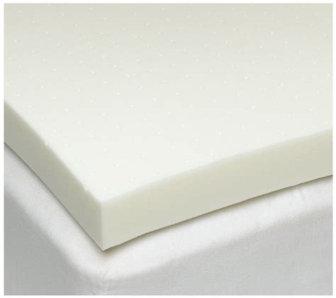 foam pad for bed the sleep joy 4 inch ventilated memory foam mattress