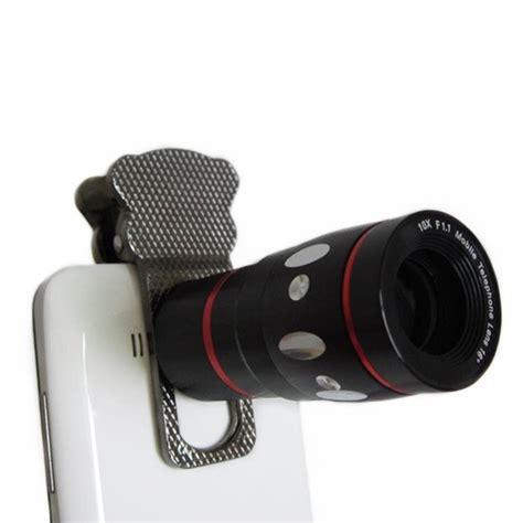 lesung universal cat clip fisheye with 10x zoom telephoto
