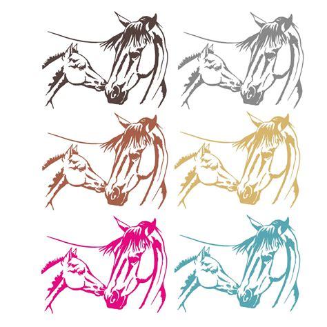 Pferde Wandaufkleber by Fohlen Pferd Pferde Wandtattoo Wandaufkleber Kinderzimmer