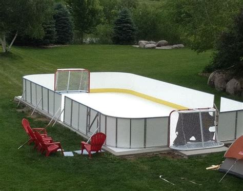 learn more about synthetic d1 backyard rinks