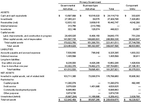 simple financial report template doc 540306 doc audited accounts template 200506 audited