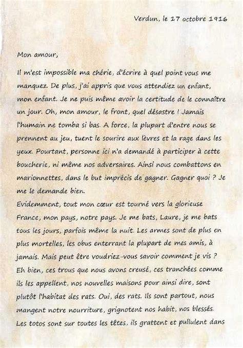 Exemple De Lettre Ecrite A Des Prisonnier Lettres De La Grande Guerre Ecriture D Invention En Deux