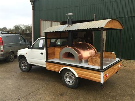 mobile pizza oven working progress on my mobile pizza oven pinteres