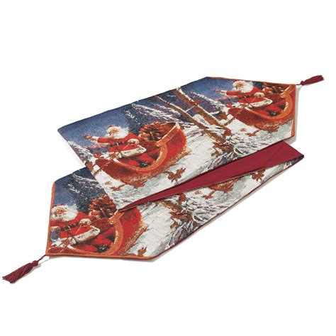 themed table runners themed tapestry festive table runner with