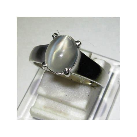 Cincin Cat Eye S cincin silver dengan batu mulia biduri bulan cat eye 7us