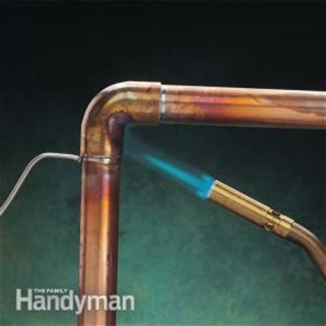 how to stop a plumbing leak the family handyman