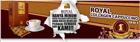 Royal Collagen Cappuccino peluang untuk menambah pendapatan singan produk