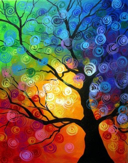 spring painting ideas wine and canvas party order class spiral tree fri march