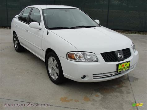 white nissan sentra 2006 2006 nissan sentra 1 8 s special edition in cloud white