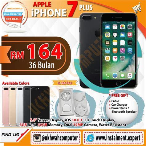 Apple Iphone 7 Plus 128gb Speci End 4 29 2018 11 15 Am Apple Iphone 7 Plus 32gb Harga Ansur End 6 4 2017 12 35 Pm