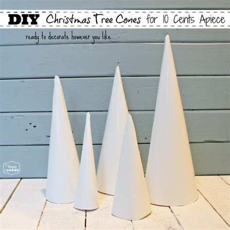 cone crafts christmas trees images