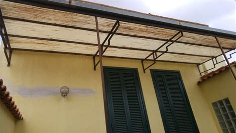 pensilina tettoia in policarbonato plexiglass pensilina plexiglass policarbonato