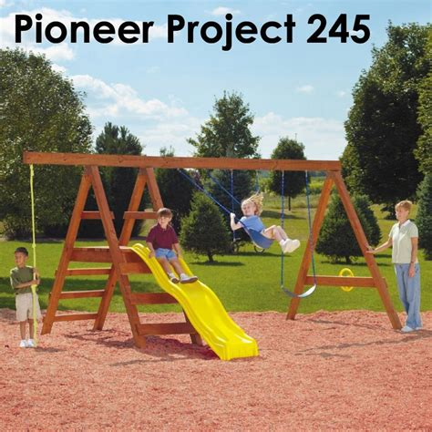 swing n slide pioneer diy play set hardware kit swing n slide wooden