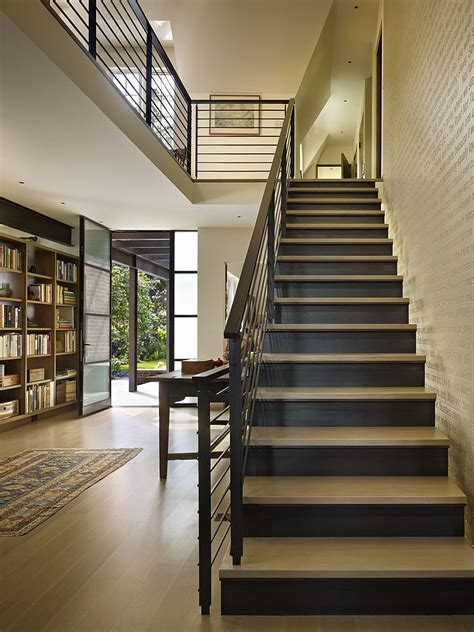 classic seattle lakefront house gets a bookish modern twist classic seattle lakefront house gets a bookish modern
