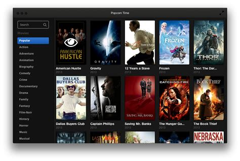 film streaming recent popcorn time is a new app to stream movies over bittorrent