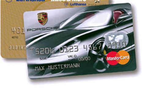 Porsche Kreditkarte by Porsche Kreditkarte Mit Erweitertem Leistungsspektrum