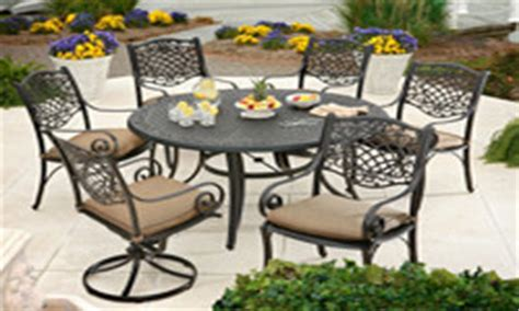 recreational warehouse patio furniture wrought iron