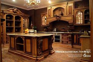 Furniture For Kitchen Cabinets China High End Solid Wood Kitchen Cabinet Mf Kc14