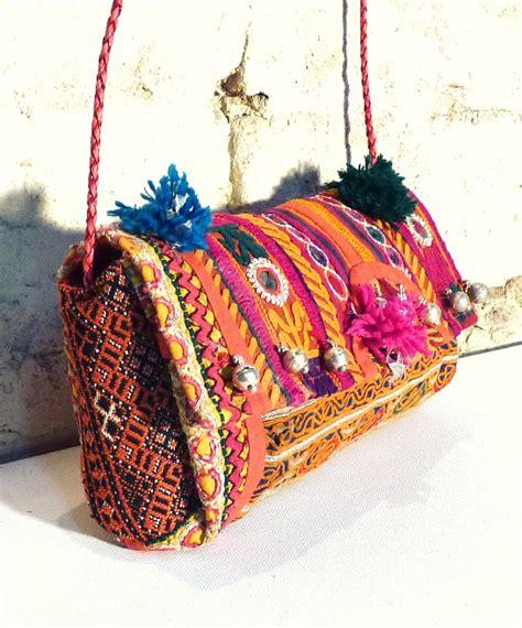 Bag India indian boho bag with bells latika the stellar boutique