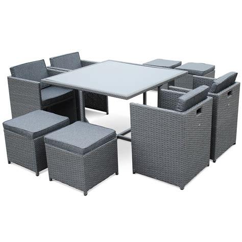 Table Haute De Jardin Tresse