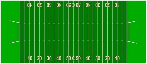 File Terrain Football Canadien2 Png Wikimedia Commons American Football Field Diagram