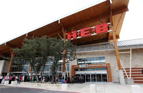 h e b s new groceraunt opens friday in stone oak san antonio express news