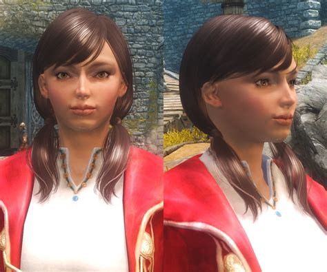 skyrim military hairstyles hair packs of tes iv oblivion for female only skyrim mod