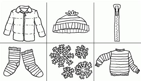 Coloring Pages Clothing by Children With Winter Cloths Coloring Pages Coloring Home