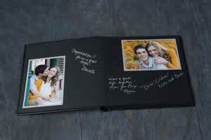 Guest Book With Black Pages Guest Book Info