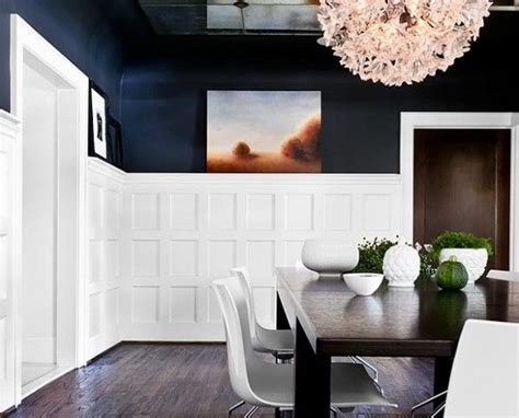 painting over dark paneling i really love this the high wainscoting dark paint