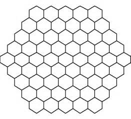 hexagon puzzle template hexagon pattern the best patterns