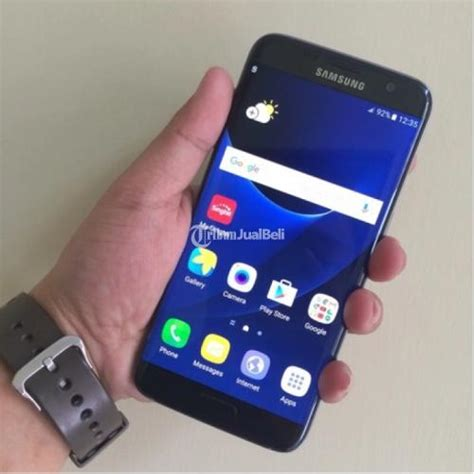 Harga Samsung S7 Jawa Timur samsung galaxy s7 edge black onyx second garansi resmi