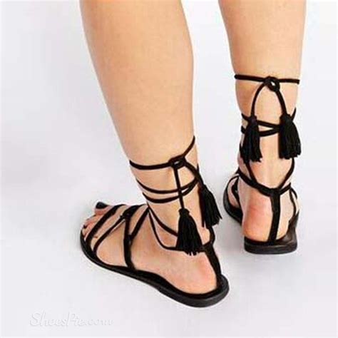 tie up flat sandals shoespie lace up flat gladiator sandals shoespie