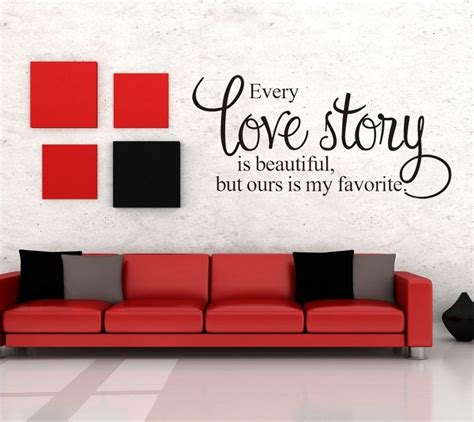 removable wall vinyl quote words letter sticker art mural