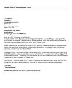 cover letter for dean position best photos of dean s list on resume sles sle