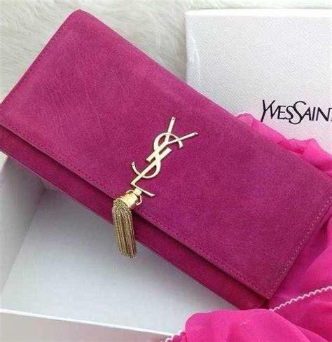 Jual Ysl Cassandre Clutch Blue In Lambskin Line Vipshopbranded ysl pink bag ysl bag on sale