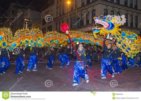 date of new year parade san francisco new year parade editorial image image 38259590