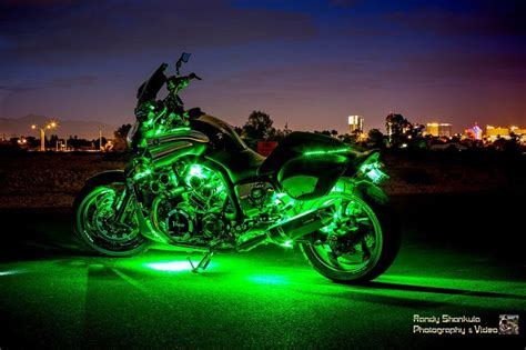 Motorcycle Neon Lights motorcycle led neon accent glow kit 216 lights 12 strips w remote ebay
