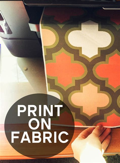 grosgrain you can print on fabric without anything more than fabric and your printer