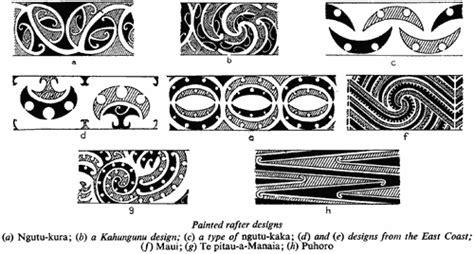 painted rafter designs a ngutu kura b a kahungunu