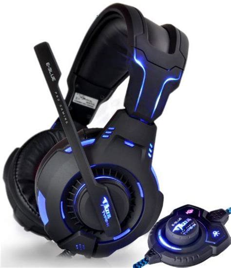 Headphones Headsets I Tech by Type X Blue Light Gaming Headsets Gaming