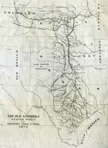 chisholm trail map chisholm trail map
