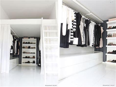 Loft Bed With Walk In Closet by Slaapkamer Op Inloopkast Inrichting Huis