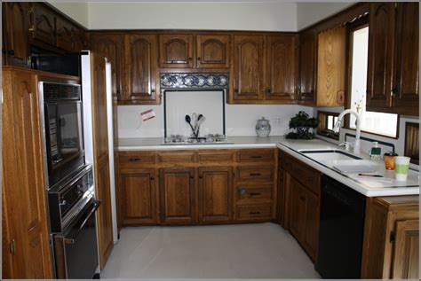 how to update kitchen cabinets free old oak kitchen cabinet update updating old oak