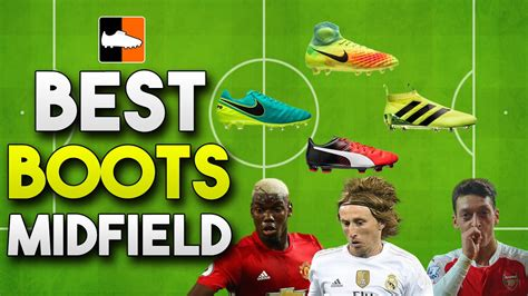 best football shoes for midfielders best boots for midfielders top soccer cleats for passing