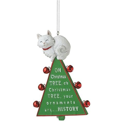 christmas tree oh christmas tree your ornaments are history purr fect cat tree ornaments for a meowy