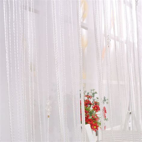 beaded string door window curtain divider room blind