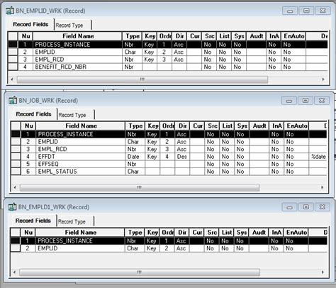 peoplesoft hrms tables list peoplesoft on hrms key concepts parallel processing