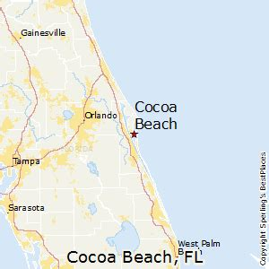 cocoa florida map best places to live in cocoa florida